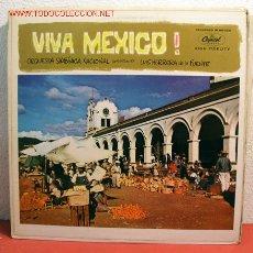 Discos de vinilo: ORQUESTA SINFONICA NACIONAL CONDUCTED BY LUIS HERRERA DE LA FUENTE ( VIVA MEXICO! ) USA LP33. Lote 2053525