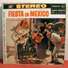Discos de vinilo: MARIACHI MIGUEL DIAS ( FIESTA EN MEXICO ) NEW YORK LP33. Lote 2053539