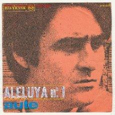 Discos de vinilo: LUIS EDUARDO AUTE - ALELUYA Nº 1 /ROJO SOBRE NEGRO. Lote 24105918
