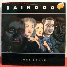Discos de vinilo: RAINDOGS ( LOST SOULS ) 1990 LP33. Lote 2056972