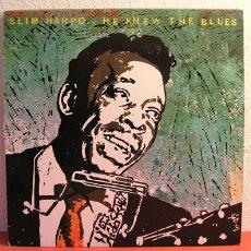 Discos de vinilo: SLIM HARPO - HE KNEW THE BLUES, UK 1978 LP SONET. Lote 2065468