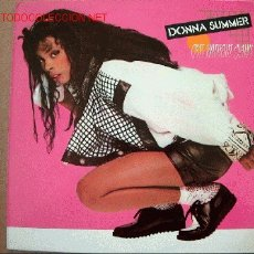 Discos de vinilo: LP-DONNA SUMMER-CATS WITHOUT CLAWS. Lote 2066181