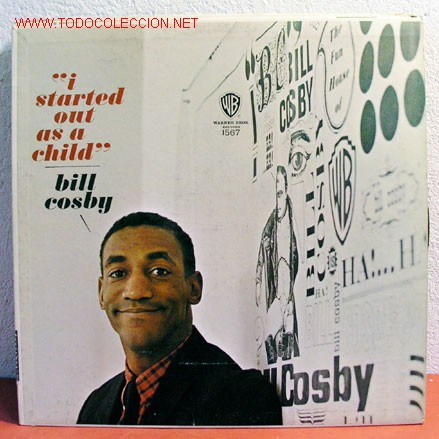 BILL COSBY ( I STARTED OUT AS A CHILD ) USA LP33 (Música - Discos - LP Vinilo - Otros estilos)
