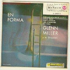 Discos de vinilo: GLENN MILLER - EP - 1962-SERENATA A LA LUZ DE LA LUNA , CURSO VELOZ, JARRRITA MARRON, AIRE LONDINENS. Lote 23928013