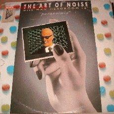 Discos de vinilo: THE ART OF NOISE WITH MAX HEADROOM 12 - PARANOIMIA. Lote 7458399