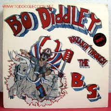 Discos de vinilo: BO DIDDLEY ( BREAKIN' THRU THE B.S. ) THE ROLL USA-1989 LP33. Lote 2116434
