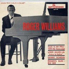 Discos de vinilo: ROGER WILLIAMS. Lote 7573991