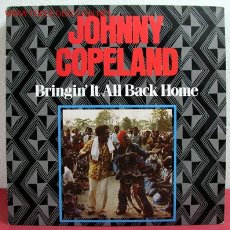 Discos de vinilo: JOHNNY COPELAND - BRINGIN' IT ALL BACK HOME , SWEDEN 1985 LP AMIGO. Lote 2125852