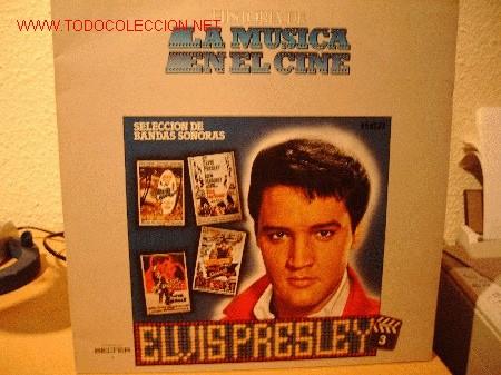 ELVIS PRESLEY (Música - Discos - LP Vinilo - Bandas Sonoras y Música de Actores )