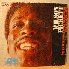 Discos de vinilo: WILSON PICKETT SINGLE. Lote 18661785