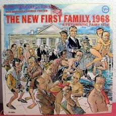 Discos de vinilo: BOB BOOKER & GEORGE FOSTER PRESENT ''THE NEW FIRST FAMILY, 1968'' A FUTURISTIC FAIRY TALE USA. Lote 2172095