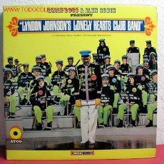 Discos de vinilo: EARLE DOUD & ALEN ROBIN PRESENT ''LYNDON JOHNSON'S LONELY HEARTS CLUB BAND'' USA. Lote 2172101