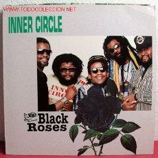 Discos de vinilo: INNER CIRCLE ' BLACK ROSES ' 1990 - GERMANY LP33 METRONOME RECORDS. Lote 2182576