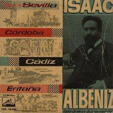 Discos de vinilo: ISAAC ALBÉNIZ . Lote 2206864