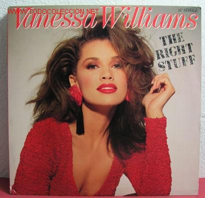 VANESSA WILLIAMS ( THE RIGHT STUFF 4 VERSIONES ) 1988 LP33 (Música - Discos - LP Vinilo - Disco y Dance)