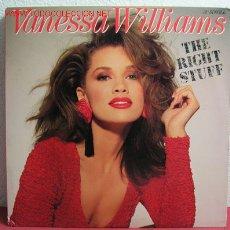 Discos de vinilo: VANESSA WILLIAMS ( THE RIGHT STUFF 4 VERSIONES ) 1988 LP33. Lote 2213457