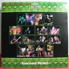 Discos de vinilo: URIAH HEEP ( INNOCENT VICTIM ) 1977 LP33. Lote 2216891