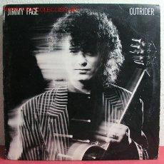Discos de vinilo: JIMMY PAGE EX LED ZEPPELIN ( OUTRIDER ) 1988 LP33. Lote 2217692