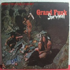 Discos de vinilo: GRAND FUNK ( SURVIVAL ) USA LP33 CAPITOL. Lote 2217697