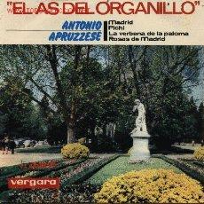 Discos de vinilo: EL AS DEL ORGANILLO - APRUZZESE. Lote 2222644