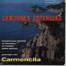 Discos de vinilo: CANCIONES ESPAÑOLAS . Lote 2222656