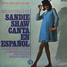 Discos de vinilo: SANDIE SHAW. Lote 216549325