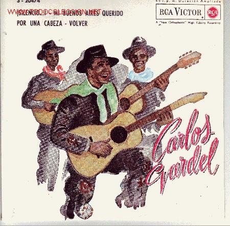 CARLOS GARDEL DISCO EP (Música - Discos de Vinilo - EPs - Grupos y Solistas de latinoamérica)