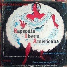 Discos de vinilo: LP-RAPSODIA IBEROAMERICANA-ORQUESTA DE CÁMARA DE MADRID CON LA DIRECCIÓN DE DANIEL MONTORIO. Lote 2261914
