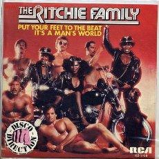Discos de vinilo: THE RITCHIE FAMILY. Lote 2268241