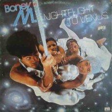 Discos de vinilo: BONEY M. : NIGHTFLIGHT TO VENUS. Lote 2308929