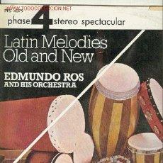 Discos de vinilo: EDMUNDO ROS - LP - DECCA 1966 - LATIN MELODIES ,OLD AND NEW. Lote 25982963