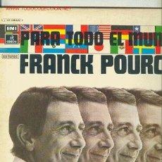 Discos de vinilo: FRANCK POURCEL - EP 1975. Lote 25982952