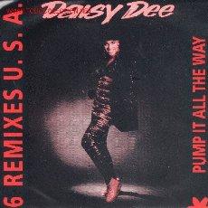 Discos de vinilo: SINGLE-DAISY DEE-PUMP IT ALL THE WAY, 6 REMIXES U.S.A.. Lote 2319568