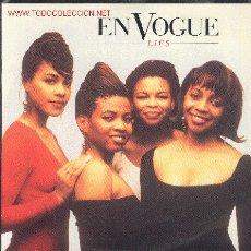 Discos de vinilo: SINGLE-EN VOGUE-LIES(THE AVANT GARDE FUNKY REMIX)/LIES(LP VERSIÓN). Lote 2319588
