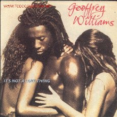 Discos de vinilo: SINGLE-GEOFFREY WILLIAMSIT'S NOT A LOVE THING/THIS IS NOT A LOVE SONG. Lote 2319616