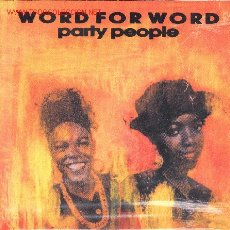Discos de vinilo: SINGLE-WORD FOR WORD-PARTY PEOPLE. Lote 2319820