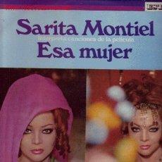 Discos de vinilo: SARITA MONTIEL DISCO LP. Lote 25857181