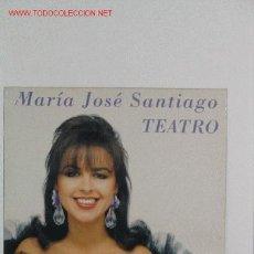 Discos de vinilo: MARIA JOSE SANTIAGO. Lote 5665591