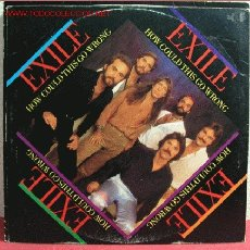 Discos de vinilo: EXILE (HOW COULD THIS GO WRONG) 1979 MAXISINGLE 45RPM. Lote 202661816