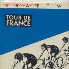 Discos de vinilo: LP MAXI 45 RPM / KRAFTWERK / TOUR DE FRANCE / EDITADO POR EMI ESPAÑA 1983. Lote 23774383
