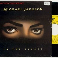 Discos de vinilo: SINGLE PROMOCIONAL 45 RPM / MICHAEL JACKSON / IN THE CLOSET /EDITADO POR EPIC ESPAÑA. Lote 44499978