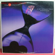 Discos de vinilo: THE WHISPERS ( JUST GETS BETTER WITH TIME ) USA-1987 LP33. Lote 2387246