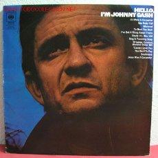 Discos de vinilo: JONNY CASH ( HELLO, I'M JOHNNY CASH ) ENGLAND LP33. Lote 39536338