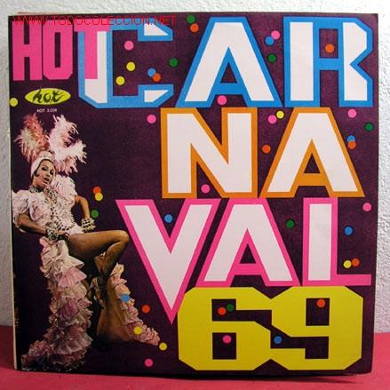 '' HOT CARNAVAL - 69 '' RIO LP33 (Música - Discos - LP Vinilo - Étnicas y Músicas del Mundo)