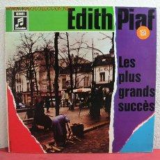 Discos de vinilo: EDITH PIAF ( LES PLUS GRANDS SUCCES ) 1975 - EEC LP33 COLUMBIA. Lote 2415241