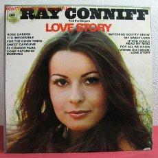 Discos de vinilo: RAY CONNIFF Y SUS COROS ( LOVE STORY ) MADRID LP33. Lote 2415307