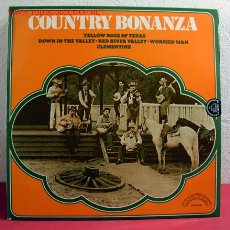 Discos de vinilo: THE SUNSETT PIONEERS ( COUNTRY BONANZA ) LP33. Lote 2415315