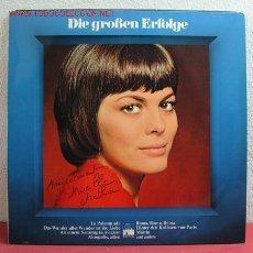 Discos de vinilo: MIREILLE MATHIEU ( DIE GROBEN ERFOLGE ) LP33. Lote 2418216