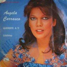 Discos de vinilo: ANGELA CARRASCO QUERERTE A TI. LÁSTIMA. ARIOLA. BARCELONA. 1LP. 1978. Lote 26463166