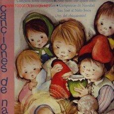 Discos de vinilo: CANCIONES DE NAVIDAD DISCO LP. Lote 23058067